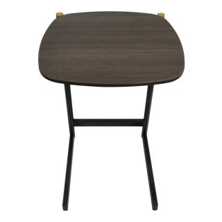 Mid-Century Modern West Elm C- Table For Sale