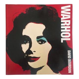 """ Warhol "" Vintage 1995 Large Volume Iconic Collector's Pop Art Book"