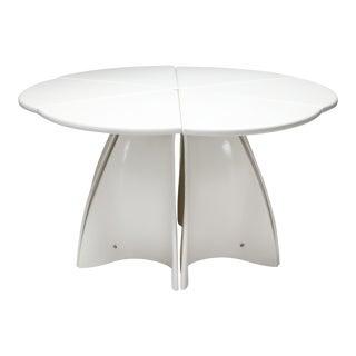 1960s Fabio Lenci Post-Modern 'Petal' Dining Table - 1960s - Set of 6 For Sale