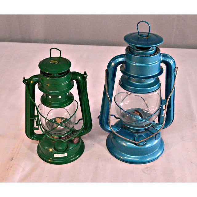 Winged Wheel Railroad Hanging Lanterns - A Pair - Image 7 of 7