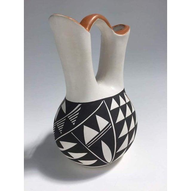 Traditional L Joe Acoma Pottery Wedding Vase Chairish
