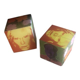 Andy Warhol Magic Cube For Sale