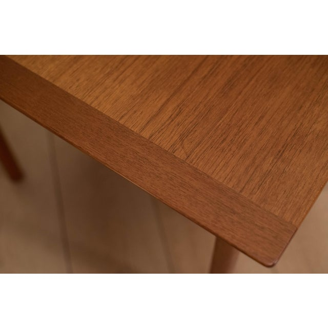 1960s Mid-Century Modern Westnofa Teak Side Table For Sale - Image 11 of 12