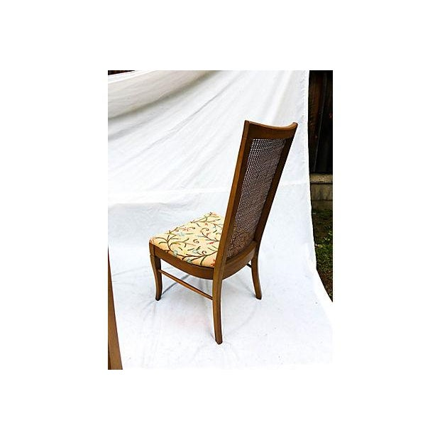 Mid-Century Caned Dining Chairs - Set of 6 - Image 8 of 8