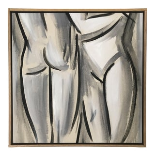 """Original Oil Painting """"Adam & Eve"""" For Sale"""