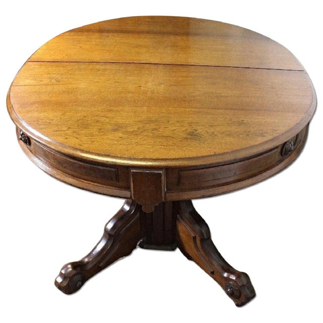 Renaissance Revival American Dining Table - Image 11 of 11