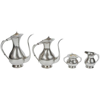 Mid-Century Coffee and Tea Set For Sale
