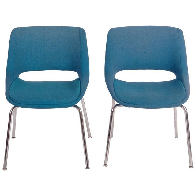 Mid-Century Chairs by Olli Mannermaa for Martela Oy - A Pair For Sale - Image 11 of 11