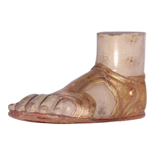 1950s Hand Carved Roman Foot For Sale
