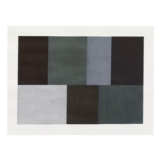 "Tom McGlynn ""Test Pattern 5 (Grey Study)"", Painting For Sale"