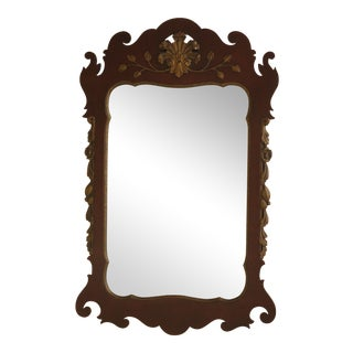 Kindel Georgian Style Mahogany Mirror