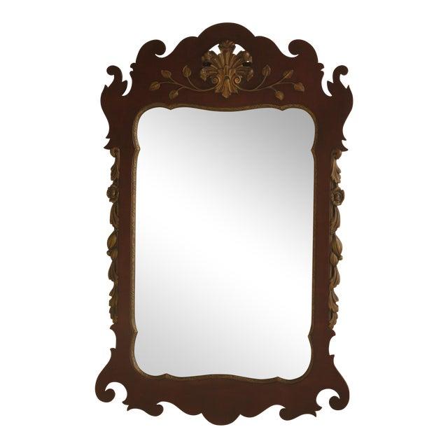 Kindel Georgian Style Mahogany Mirror For Sale