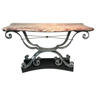 Art Deco Console Table For Sale