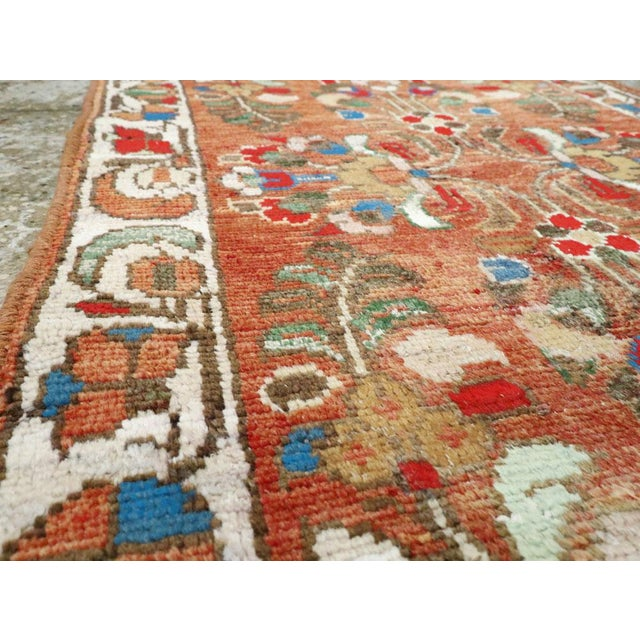 "Vintage Persian Hamadan Rug - Size: 2' 1"" X 3' 8"" For Sale - Image 4 of 9"