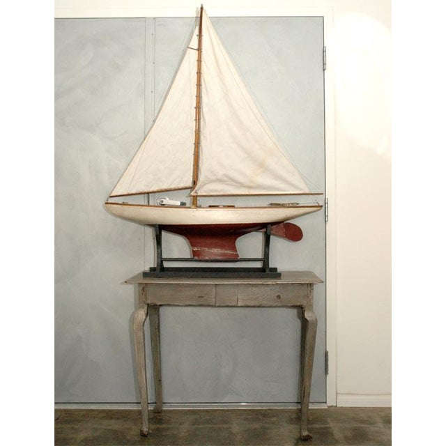 Red Large American Pond Boat For Sale - Image 8 of 8