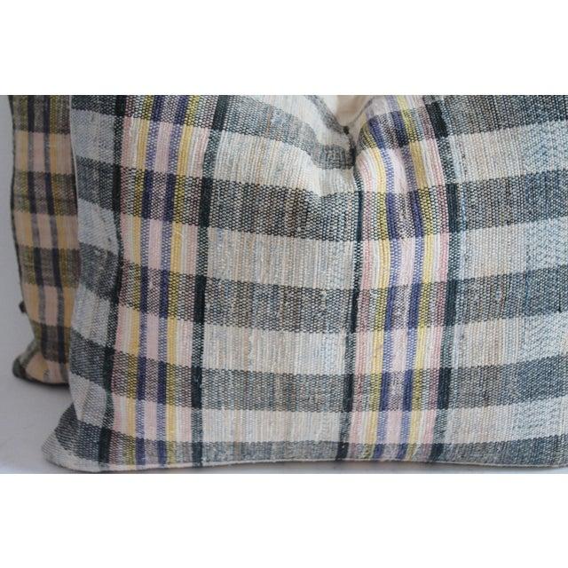 Rag Rug Pillows - Image 3 of 4