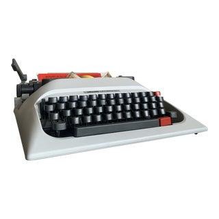 1970s Unused Olivetti Lettera 12 Typewriter For Sale