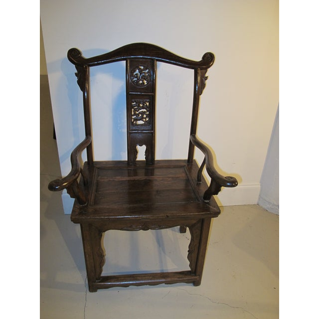 1990s Chinese Emperor Side Chair For Sale In Greensboro - Image 6 of 6