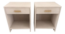 Image of Beige Nightstands
