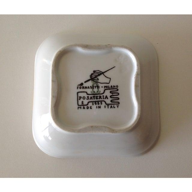 """Piero Fornasetti """"Posateria"""" Accent Dish For Sale - Image 9 of 11"""