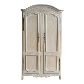Vintage Drexel Cabernet Collection French Armoire For Sale