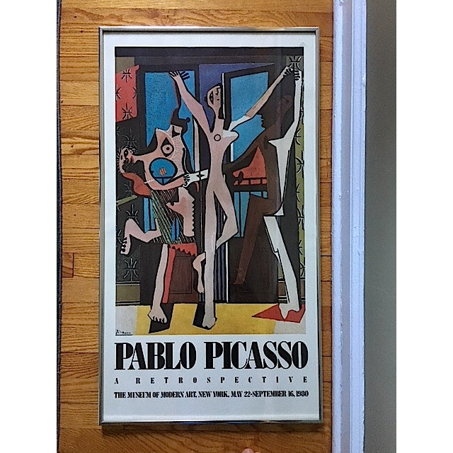 Vintage Picasso Exhibition Poster - Three Dancers - Image 2 of 6