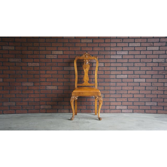 Early 20th Century Antique French Provincial Carved Chair For Sale - Image 10 of 10