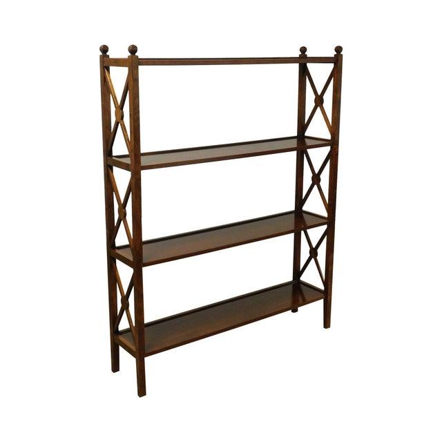 Grange French Cherry 4 Tier Bookshelf For Sale - Image 13 of 13