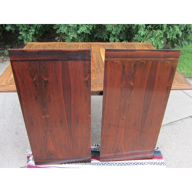 Westnofa Norway Mid-Century Brazilian Rosewood Dining Table - Image 7 of 7