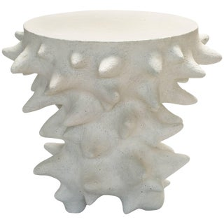 William Coggin - Pseudopodia End Table - Glazed Ceramic For Sale