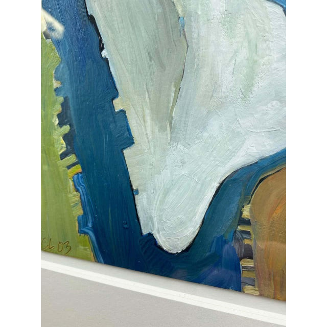 """Chase Langford """"Manhattan No. 1"""", Expressionist Oil Painting, 2003 For Sale - Image 9 of 13"""