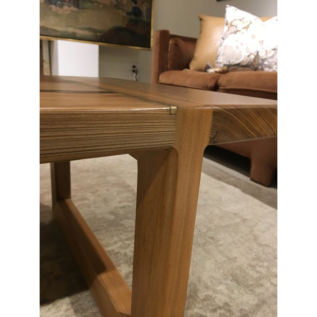 Cypress Cocktail Table For Sale - Image 4 of 10