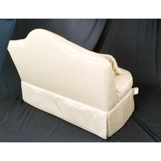 Fabric Modern Century Furniture Signature Upholstery Settee For Sale - Image 7 of 11