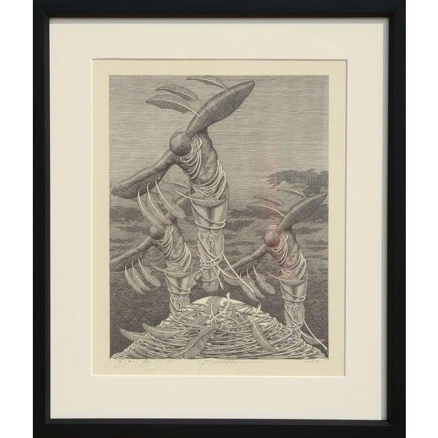 "Wojtek Kowalczyk, ""XVI,"" Lithograph - Image 1 of 2"