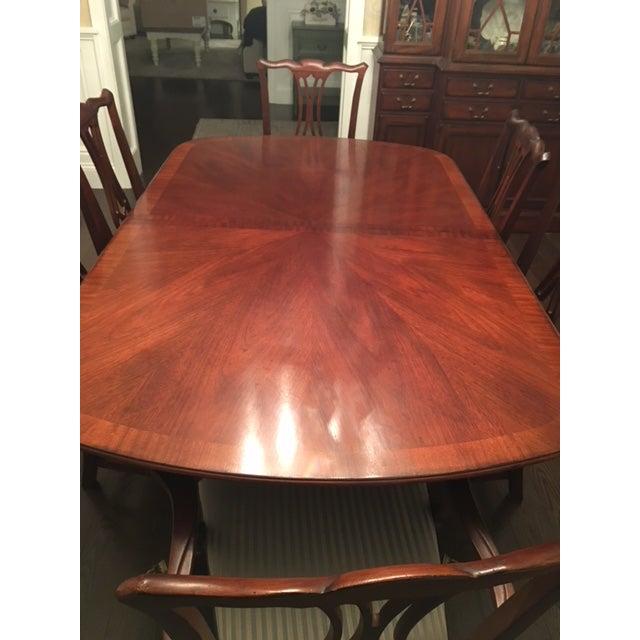 Drexel Heritage Mahogany Collectors Dining Room Set