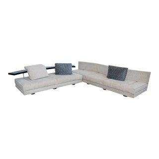 "1990, Saporiti Italia, ""Avedon"", Modern, Sofa by Mauro Lipparini For Sale"