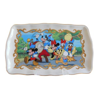 Mickey Mouse Disney Porcelain Lenox Tray For Sale