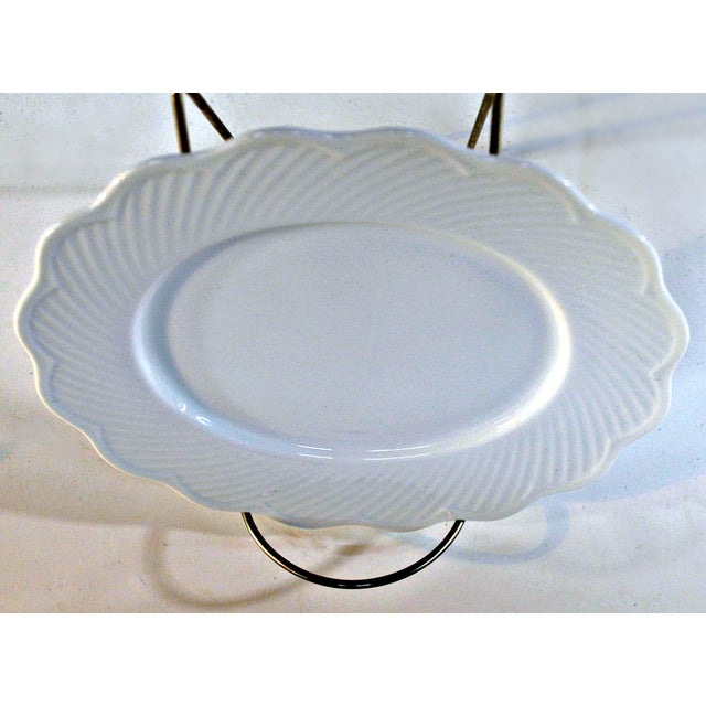 Dansk White Portugal Oval Candy Plate - Image 4 of 7