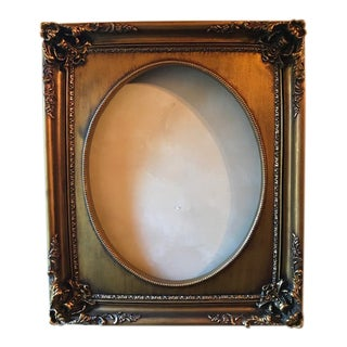 Gold Gilt Wood Art Frame For Sale