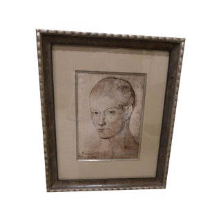 Picasso Head of a Boy Framed Print