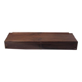 Hovmand-Olsen Denmark Floating Teak Entry Table For Sale