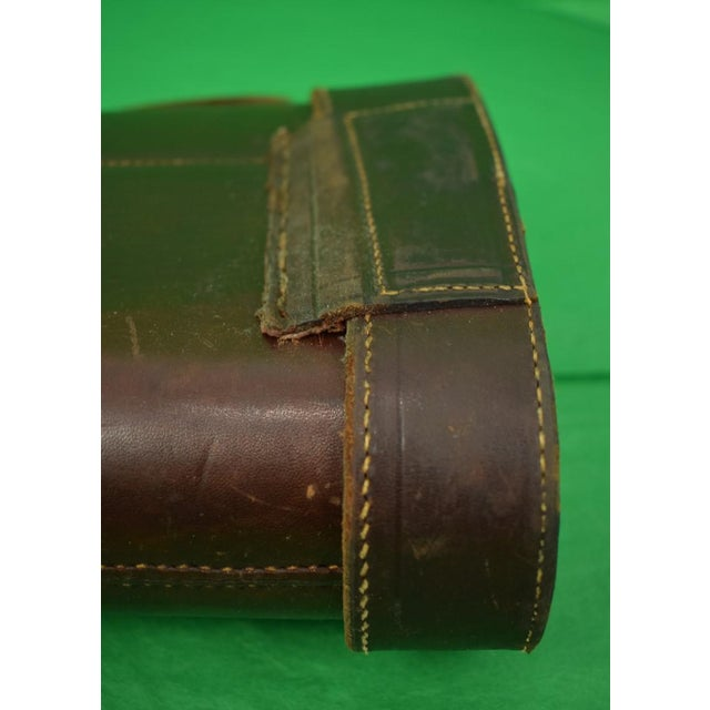 Abercrombie & Fitch Abercrombie & Fitch Leather Gun Case For Sale - Image 4 of 9