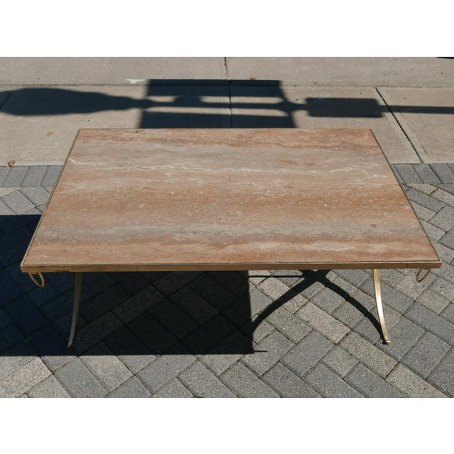 Gilt Iron Coffee Table by Barbara Barry For Sale In Richmond - Image 6 of 7