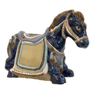 Ceramic Horse Statue Figurine For Sale
