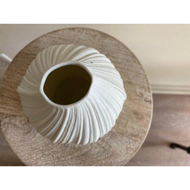 """Rare unique 1970's Rosenthal Studio Line Vase Made in Germany 5"""" diam x 5"""" h"""