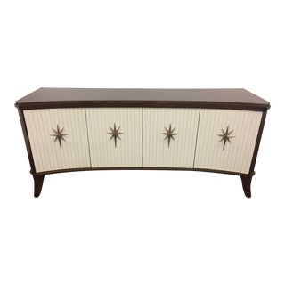 21st Century Regency Style Klismos Credenza by Global Views For Sale