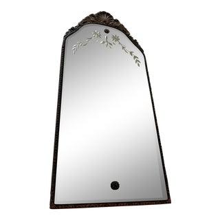 Art Nouveau Deco Gesso Mirror
