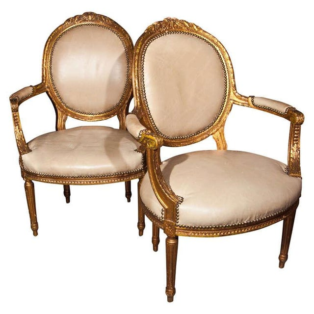 Maison Jansen French Louis XIV Armchairs - A Pair For Sale - Image 11 of 11