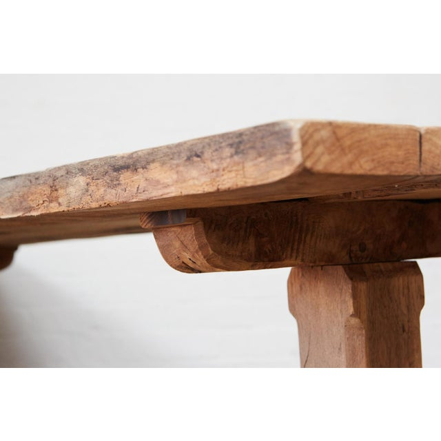 French Farm Trestle Table For Sale - Image 5 of 5