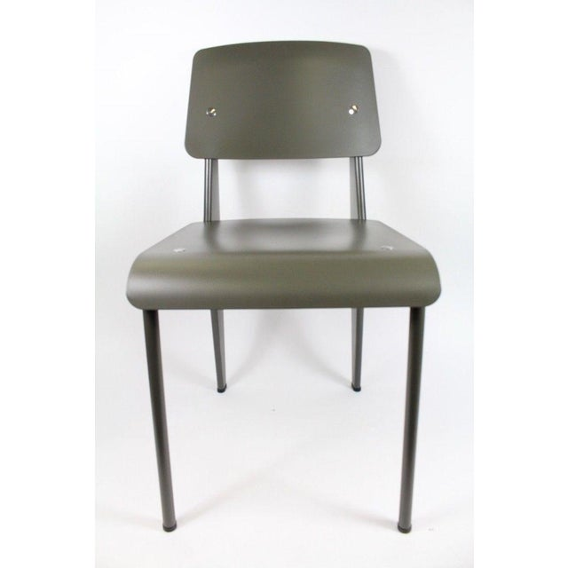 French Jean Prouve Standard SP Chair For Sale - Image 3 of 11